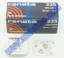 瑞士renata 335 SR512SW纽扣电池